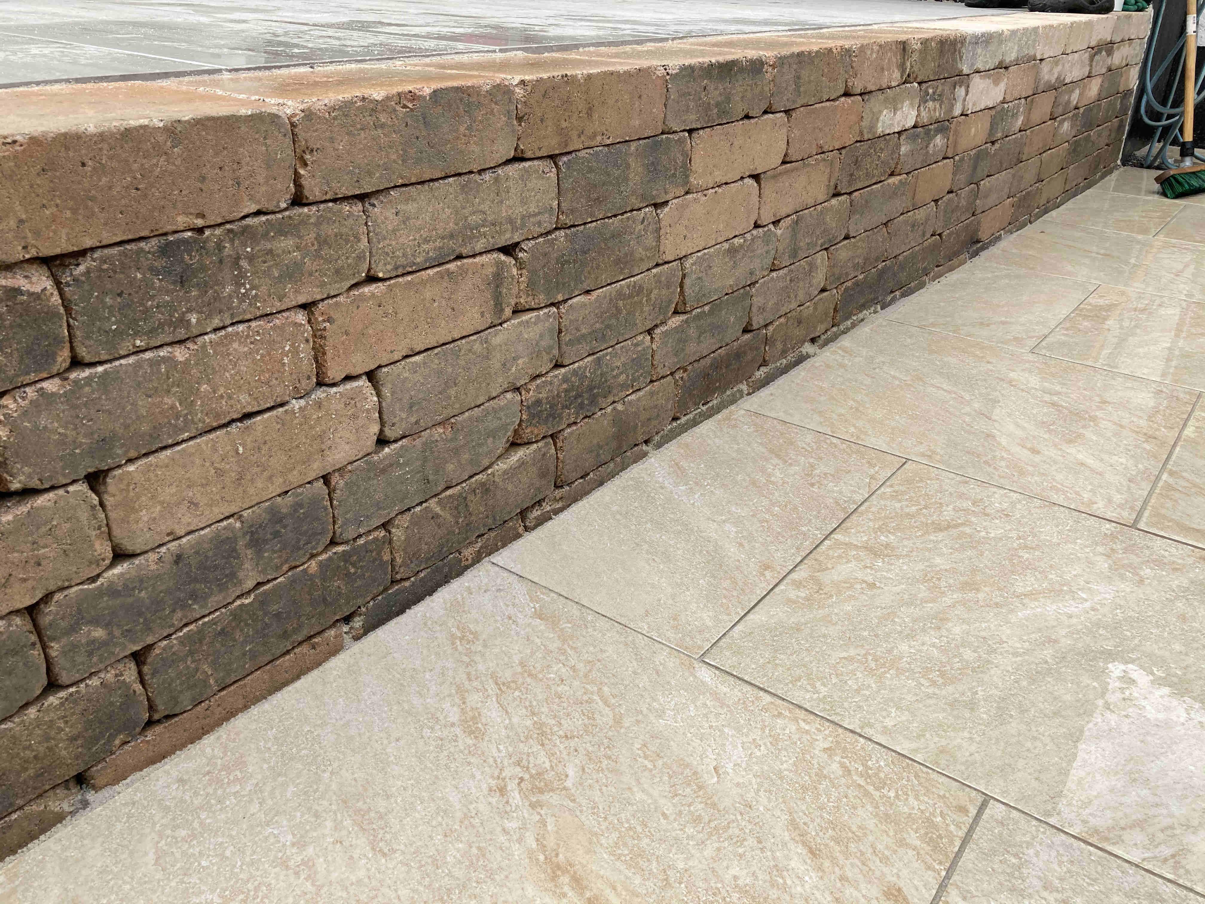 Mauerwerk aus gekollerte Steinen Dortmund