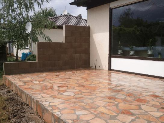 Natursteinplatten Polygonalplatten dortmund