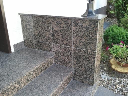 stufen in marmor